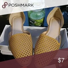 Women flats In great condition. Women flats. Perfect forthe fall season. In original box. Cato Shoes Flats & Loafers