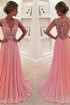 Beautiful Prom Dress, pink prom dresses chiffon prom dress chiffon prom dresses simple prom dress tulle prom dress simple evening gowns cheap party dress elegant prom dresses 2018 formal gowns for teens Meet Dresses Prom Dresses Long Pink, Prom Dresses 2016, V Neck Prom Dresses, Elegant Prom Dresses, Cheap Prom Dresses, Pretty Dresses, Beautiful Dresses, Dress Prom, Prom Gowns
