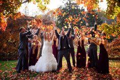 #BigDay #weddings #realweddings    Danielle and Brendan's Autumn Wedding Check more at http://www.bigday.io/2015/12/14/danielle-and-brendans-autumn-wedding/