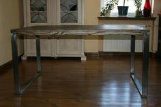 Drewniany stół typu LOFT- lity jesion 100 x 150
