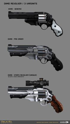 "ArtStation - DXMD Weapon Concept design & Skin Graphic design, Martin Sabran ""MSab"""