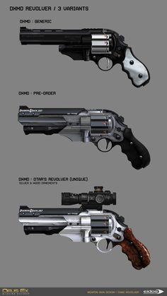 "ArtStation - DXMD Weapon Concept design & Skin Graphic design, Martin Sabran ""MSab"""