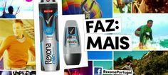 Rexona desafia os portugueses: Faz Mais!