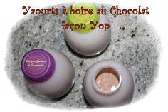 12 yop choco Lait yaourt vit 5 10 sec Ajouter 7 cas chocolat 4 min vit 2 Kids Yogurt, Jam Recipes, No Bake Desserts, Parfait, Mousse, Panna Cotta, Deserts, Pudding, Sweets