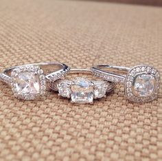 Amazing engagement rings//