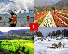 Srinagar, Jammu & Kashmir (Heaven on EARTH in INDIA)