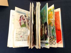 a collage book