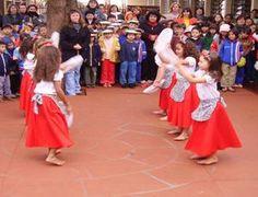 Apresentações artísticas, bairro Itaipu. 05/09/2005. Município de Medianeira