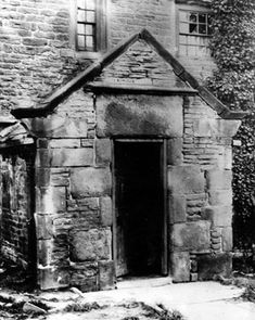 Front Doorway, Walkley Hall, Heavygate Road Industrial Architecture, Local History, Coventry, Sheffield, Doorway, Old Photos, Lantern, Photographs, Old Things