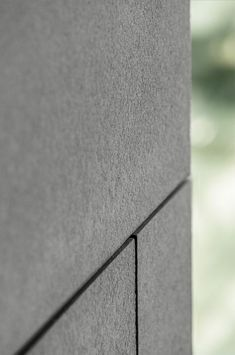 Facade panel Materia from EQUITONE Exterior Wall Panels, Exterior Wall Cladding, House Cladding, Facade House, Exterior Wall Materials, Building Materials, Stone Facade, Stone Cladding, Facade Design