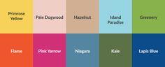 Pantone color palette spring 2017