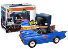 Toy Tokyo NYCC Exclusive: Funko Pop 66 Batmobile with Batman (Blue ...