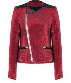 #IRO red jacket