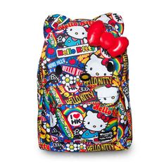 631f7e715a Hello Kitty Groovy Stickers Backpack by Loungefly Back to School is here  Loungefly loves Hello Kitty and nothing shows their love for Hello Kitty  more then ...