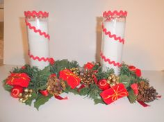 Vintage Christmas Centerpieces by Gem2theiVintage on Etsy