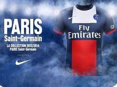 Design du nouveau maillot du PSG   http://blog.shanegraphique.com/design-du-nouveau-maillot-du-psg/