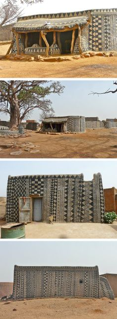 Kassena Royal Court and Mausoleum Complex, Tiébélé, Burkina Faso