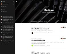 side drawer Hamburger Menu, G News, News Stories, Reading Lists, Drawer, Playlists, Drawers, Chest Of Drawers