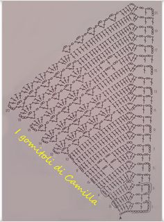 Herringbone Stitch, How to work a Herringbone stitch (Step by Step, Video) Crochet Table Runner Pattern, Crochet Placemats, Crochet Edging Patterns, Crochet Lace Edging, Crochet Doily Patterns, Crochet Borders, Crochet Diagram, Filet Crochet, Crochet Doilies