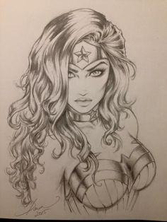 Wonder Woman - Art by Dawn McTeigue Comic Book Characters, Comic Character, Comic Books Art, Comic Art, Wonder Woman Kunst, Wonder Woman Art, Wonder Woman Drawing, Wonder Women, Wonder Woman Tattoos