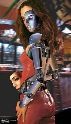Pictures of Cyborg Cyborg Girl, Female Cyborg, Fantasy Life, Sci Fi Fantasy, Harrison Ford, Blade Runner, Science Fiction, Futuristic Robot, Cyberpunk Girl