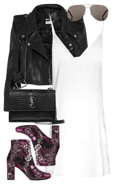 """Sin título #2348"" by namelessale ❤ liked on Polyvore featuring Vetements and Yves Saint Laurent"