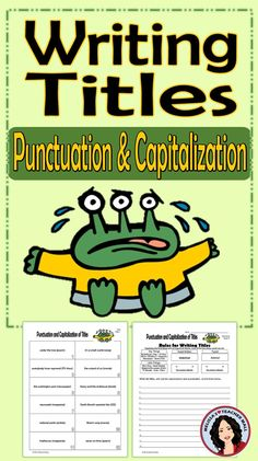writing a journal article title punctuation