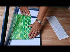 Papierperlen - der Zuschnitt