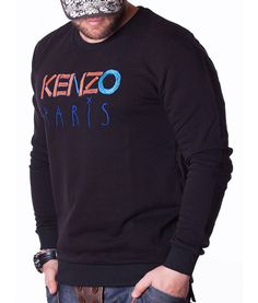 Kenzo Sueters - Paris Fashion Sueter Negro