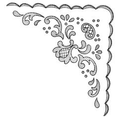 2 (700x700, 76Kb) Cutwork Embroidery, Vintage Embroidery, Cross Stitch Embroidery, Lace Patterns, Embroidery Patterns, Machine Embroidery, Outline Designs, Lace Painting, Pencil Design