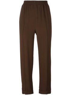 MARNI Gathered Cropped Trousers. #marni #cloth #trousers