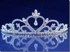 Bridal Wedding Crown Veil Pageant Homecoming Prom Crystal Tiara 44706 | eBay