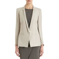 Helmut Lang Slim Lapel Blazer Sale up to 70% off at Barneyswarehouse.com