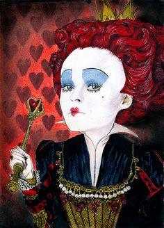 Alice in Wonderland Red Queen | da alluneedislol