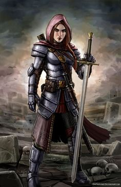 Tamisen the Paladin by SirTiefling on deviantART