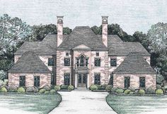 Living in Style - 41981DB | 1st Floor Master Suite, Bonus Room, CAD Available, Den-Office-Library-Study, European, Jack