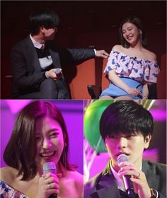 BTOB Yook Sungjae Red Velvet Joy We Got Married