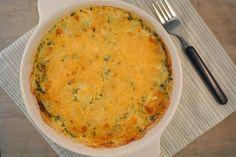 brocolli schotel met aardappelschijven