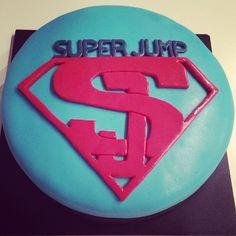 SuperJump made to order Cake! By Serena and Marika