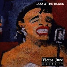 1997 Victor Jazz History Vol.20: Jazz  The Blues [RCA 74321357392] cover painting by Alice Choné #albumcover