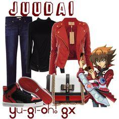 """""""Yuki Juudai, from Yu-Gi-Oh! GX"""" by blackrabbitmegapig on Polyvore"""