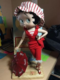 Coca Cola Betty Boop Porcelain Doll                                                                                                                                                     More