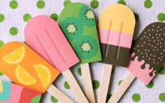 cute popsicles to place and make your beach side show!!