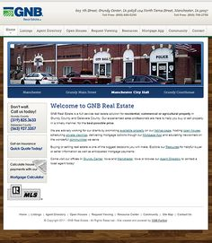 Specialty website for Grundy Real Estate by VGM Forbin.