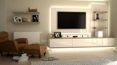 Living room tv room ideas for small spaces small room ideas small room design ideas medium . living room tv room ideas for small spaces Built In Tv Cabinet, Tv Cabinet Design, White Tv Cabinet, Living Room Wall Units, Living Room Designs, Wall Units For Tv, Tv Stand Ideas For Living Room, Modern Tv Wall Units, Living Spaces