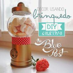 DIY bubble gum machine - DIY Coletivo: Bomboniere