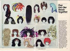 The Hair Hall of Fame: Cher Wigs!