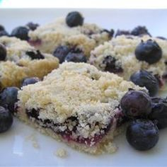 """Blueberry Shortbread Bars 