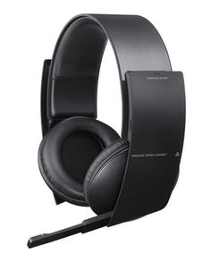 Gaming headset: Sony PS3 wireless stereo headset (so you don't have to listen to listen to the destruction)