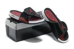 dae0b8057 Jordan Hydro 5 Mens Black Cym Red Red Jordan Sandals  Black  Womens   Sneakers